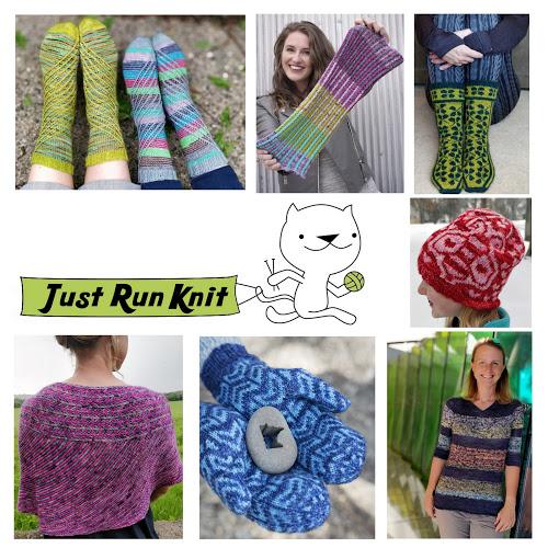 Just Run Knit Designs by Megan Williams