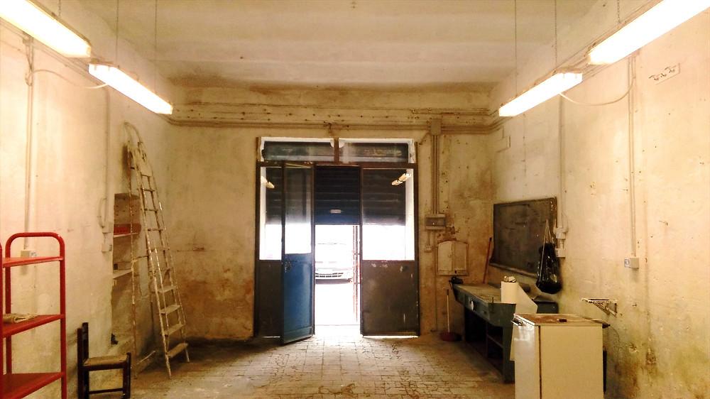 garage laboratorio a matera