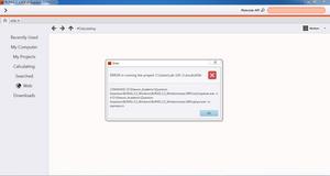 Setting up Burai on Windows, Error | BURAI-forum | burai