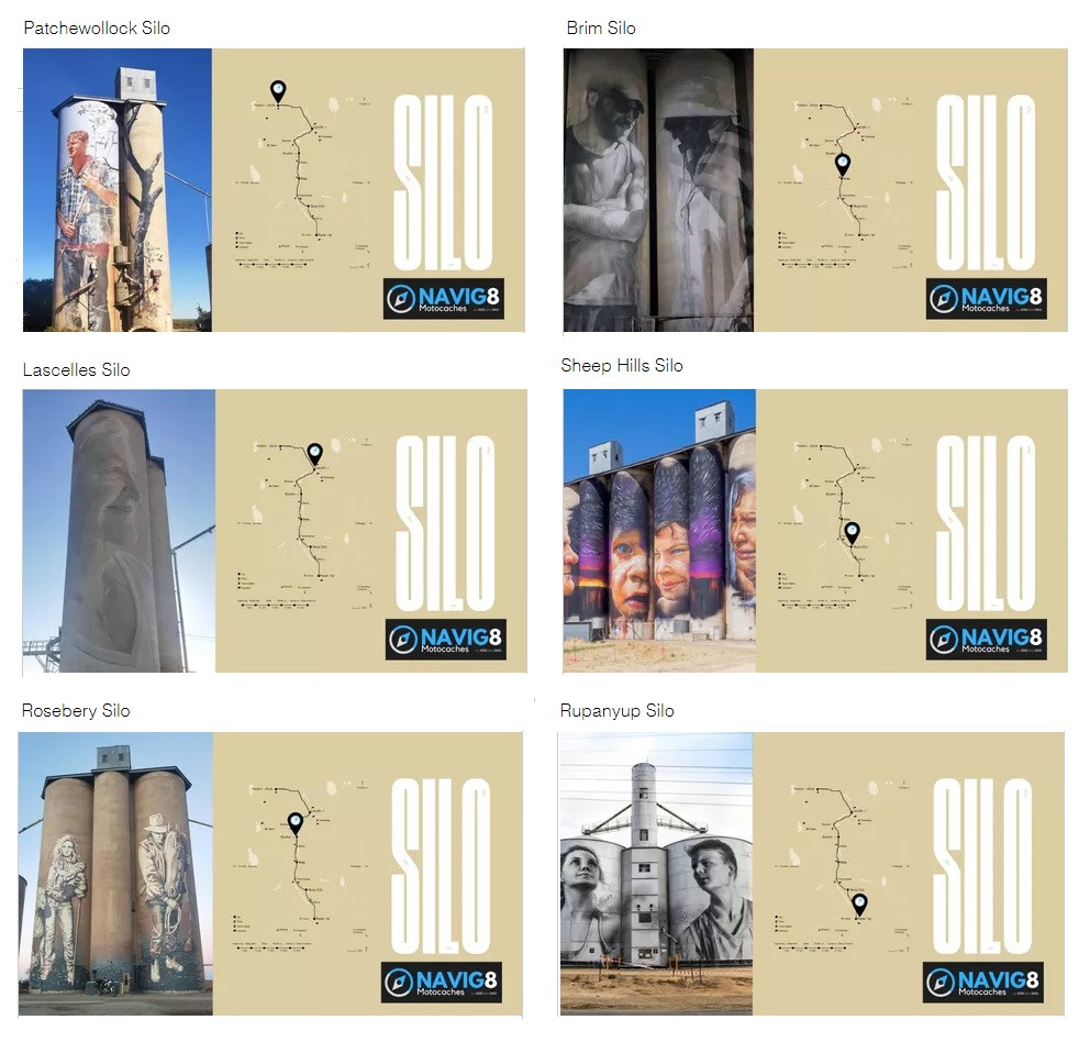 Australia's largest outdoor gallery, the SILO Art trail
