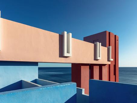 Ricardo Bofill's La Muralla Roja