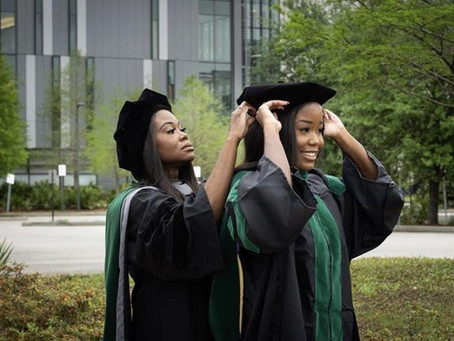 Ghanaian Mom (49) and daughter (26) both graduate as Doctors on the same day 🎉🎉🎊🎊