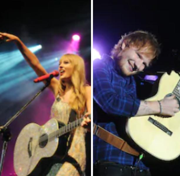 Taylor Swift; Ed Sheeran