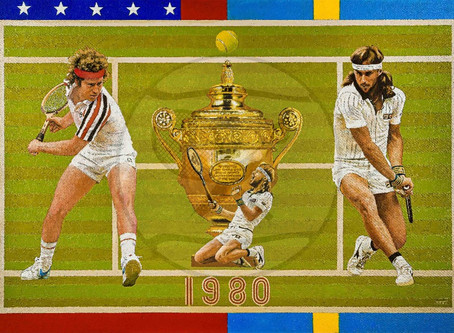 The origins of The Drama of Wimbledon 1980 including Video | The Berlin Tennis Gallery