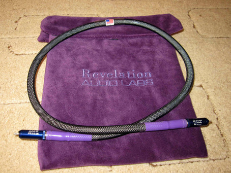 Revelation Audio Labs Prophecy CryoSilver™ Reference True 75-ohm S/PDIF Digital Link cable
