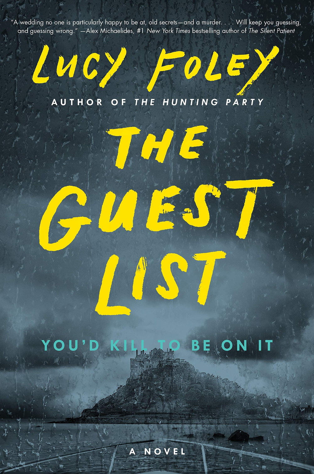 The Guest List by Lucy Foley : the book slut book reviews thebookslut