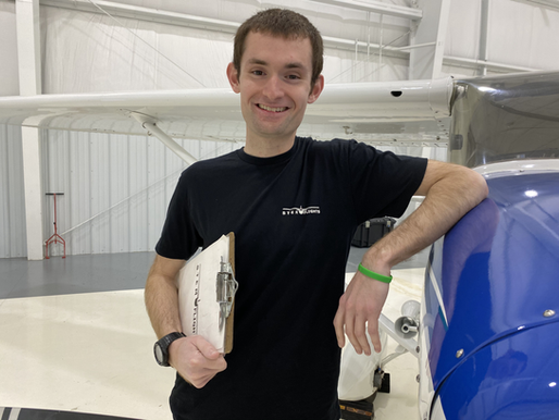 Young Eagle becomes STEM Flights Pilot Mentor