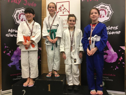 4 Gold, 2 Bronze at Galway Open 2020!