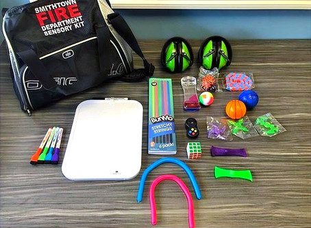 Sensory Kits Added to First Responder Vehicles & Ambulances