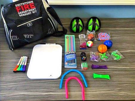 Sensory Kits Added to First Responder Vehicles & Ambulances