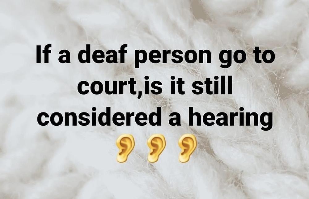 Funny Deaf Memes