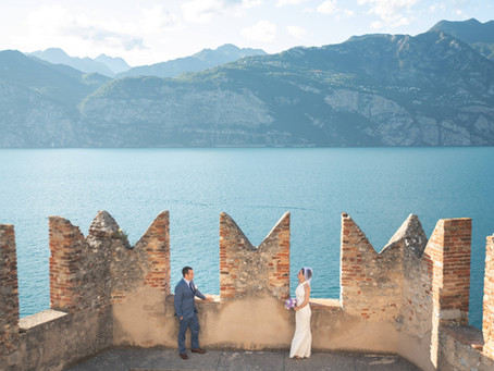 Lake Garda Wedding Photographer. Destination Wedding