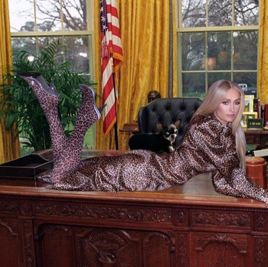 Paris Hilton PRESIDENTA!