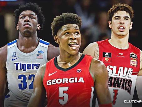 2020 NBA Draft Lottery Recap