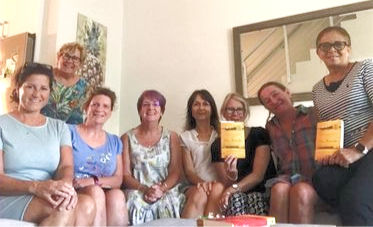 Another month, another succesful book club meeting!