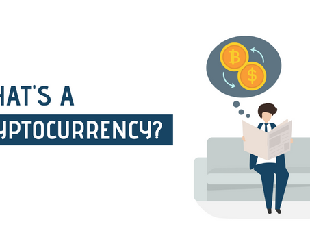 What's a cryptocurrency?