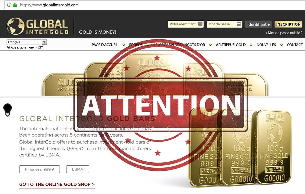 Global Intergold AVIS