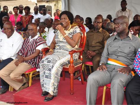 ARTICLE SOIR INFO : SIMONE GBAGBO PLAIDE POUR LA CONSTRUCTION D'UNE CÔTE D'IVOIRE NOUVELLE
