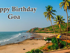 Happy Birthday Goa
