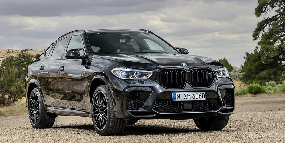 BMW X6 M Competition front angle, Car, Automotive, Automotive news, Auto, Automobile