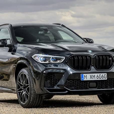 2020 BMW X6 M Competition: the more colorful, the more powerful