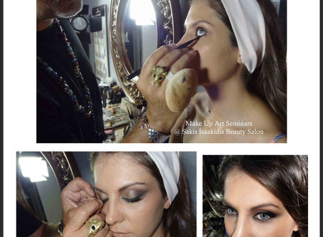 Life isn't perfect but your Make Up can be! @Sakis Isaakidis Beauty Salon