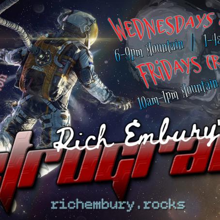 Rich Embury's R3TROGRAD3: Then vs. Now (07/17 Replay)