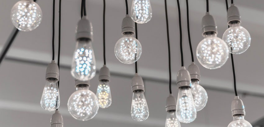 Consider LED lighting fixtures as a way to be more energy efficient with your new home design in Cincinnati