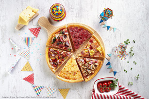 Mix and Match your own Pizzas!