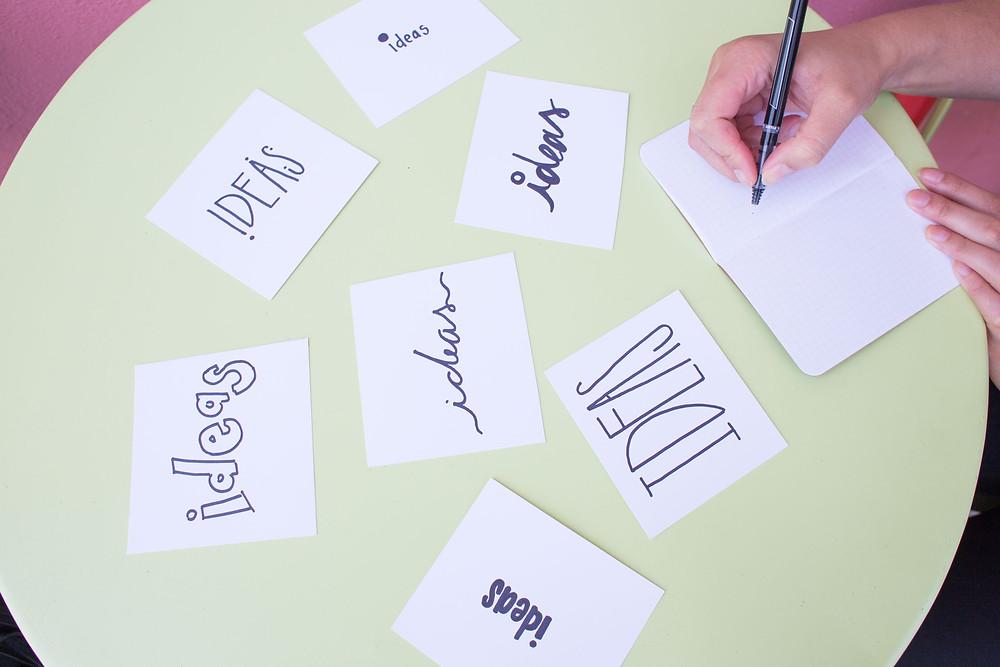 Ideas para ser más creativo e innovador