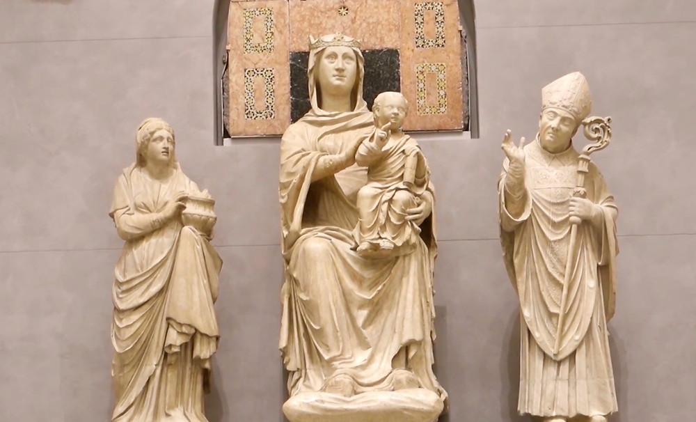 Arnolfo de Cambio, Madonna of the Glass Eyes, 1300
