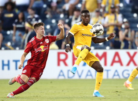 PHOTOS: Nashville SC 1 - 2 New York Red Bulls II