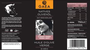 Natives Olivenöl aus Griechenland von GAEA - demnächst bei Manor erhältlich - evoo.expert evoo ag