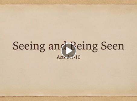 Seeing and Being Seen (Video) - Matt Allen
