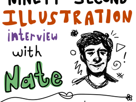 90-second illustrations interview