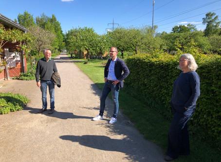 Unterwegs mit CDU-Bürgermeisterkandidat Ansgar Mertens im Biozentrum