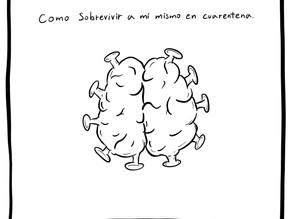 ¿Cómo sobrevivir a mi mismo(a) en cuarentena?: Cuaderno de Debraye Mental