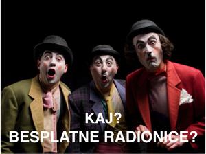 """Kreativne radionice """"Kazališni projekt Jelenovac"""""""