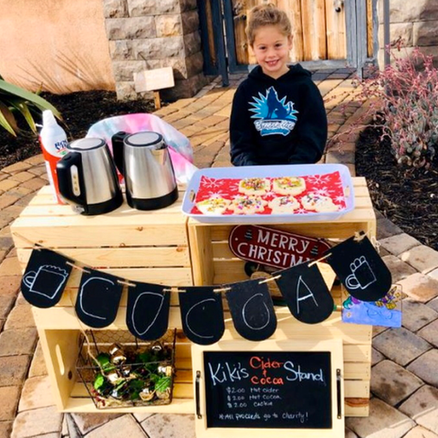 5-Year-Old Paid off the Lunch Balances for 123 Students by Selling Cocoa and Cookies