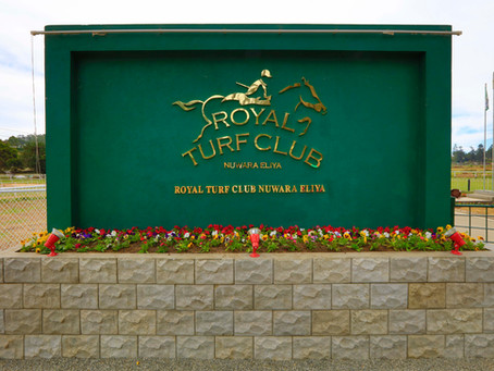 """AYUBOWAN"" FROM THE ROYAL TURF CLUB – NUWARA ELIYA"