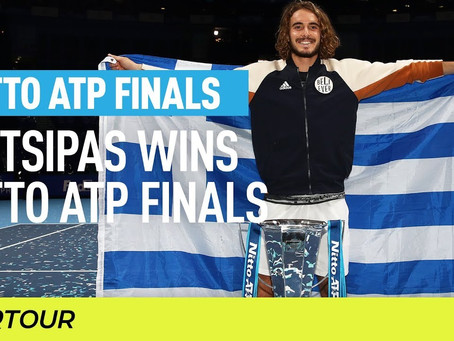 Tsitsipas (gre) wins 4th title at atp finals