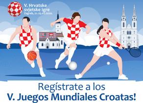 Asociación Croata Jadran, Coordinador exclusivo de los V Juegos Mundiales Croatas