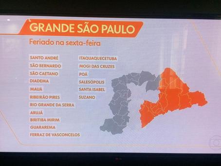 PROGRAMAÇÃO DOs FERIADOs ANTECIPADOs.