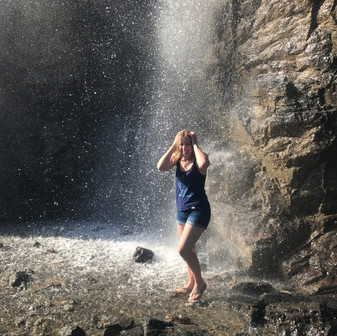 Shower Under A Waterfall: I'm Sorry, Where?