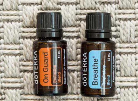 Seasonal Health with Essential Oils - dōTERRA On Guard® and dōTERRA Breathe®