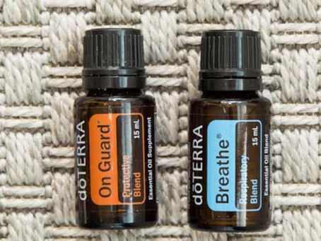 Seasonal Health with Essential Oils - dōTERRA On Guard® and dōTERRA Breathe®