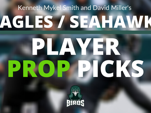 Seahawks @ Eagles Player Prop Bets