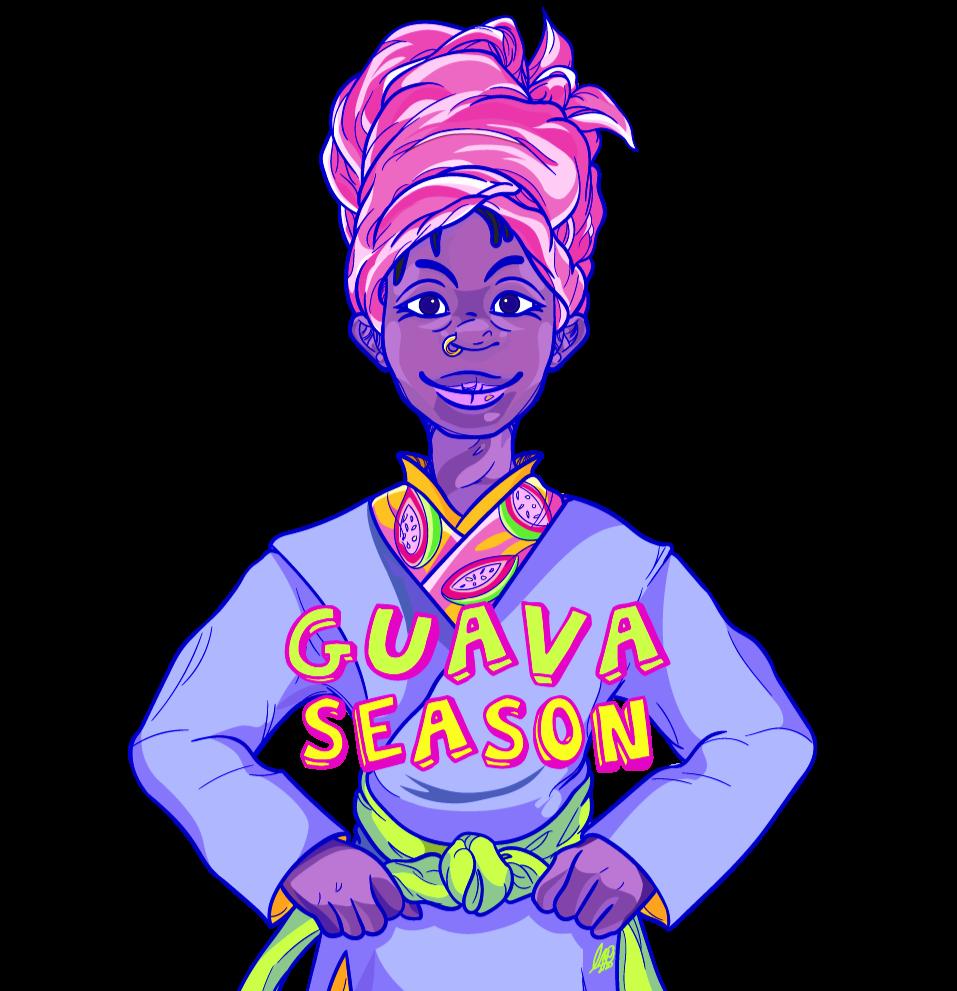 Guava Season mascot, Guava Season brand