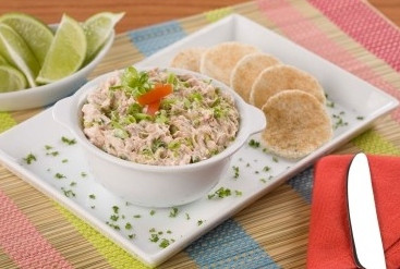 Salmon Vegetable Dip