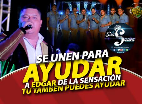 Edgar Guzmán de La Sensación SUFRE ACCIDENTE y sus compañeros se unen para ayudar.